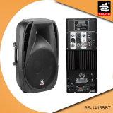 15 Spreker pS-1415bbt van de Macht Bluetooth van de duim de Professionele tweerichtings150W Plastic Actieve