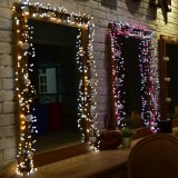 Het Koord van het Festival van de Partij van Kerstmis van de Decoratie van de Bal van de LEIDENE Voetzoeker van gelijkstroom 30V