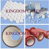 Alumina de Ceramische Voering van de Pijp/Isostatic Dringende Alumina Ceramische Pijp
