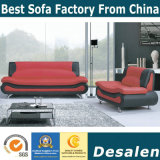 Sofà moderno del cuoio genuino della mobilia di prezzi all'ingrosso della fabbrica (C07)
