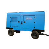 Portable SDP1060K Screw Air Compressor Driven by Diesel