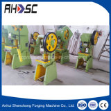 J23-10t punção de chapa metálica máquina de prensa elétrica Mecânica
