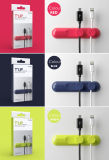 Nieuwe Levensstijl T'up I de Magnetische Klem van de Kabel USB, de Organisator van de Kabel