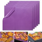 Commerce de gros violet Barbecue mat