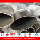 Flat Tubo Oval Acero ( Q195 Q235 Q345 16mn )