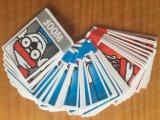 カスタムトランプの火かき棒の漫画の火かき棒のカードの漫画の火かき棒