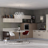 Cabina de cocina modular del cuarzo de la piedra de la encimera de los muebles modernos de la cocina