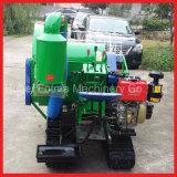 米及びムギの小型コンバイン収穫機機械(4LZ-0.8)