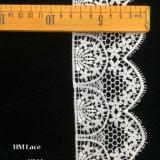 8cm broderie extensibles de polyester durable Motif floral dentelle élastique DTY de fraisage de l'artisanat accessoires de vêtements d'alimentation avec des glands Hmhb1022