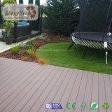Decking en bois réversible d'extérieur de coextrusion du composé WPC de vente chaude