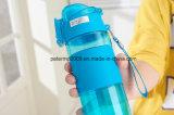 Bottiglia di acqua di plastica di disegno e di colore personalizzata alta qualità con il filtro