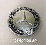 Les pièces automobiles75mm centre de roue Hubcap couvercle Rim Black Silver Chrome un1714000025
