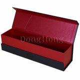 Grande Taille Conditionnement Effacer Fenêtre Pliable Cadeau Vin Box