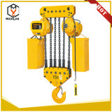 10t 5m de elevación de materiales pesados grúa de bloque de la cadena de uso