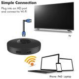 WiFiの表示Dongle、Wishpower HDMI 1080PのIosのための小型表示受信機TV Miracast Dlna Airmirror AirplayかアンドロイドまたはWindowsまたはMac