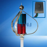 По вертикальной оси ветровой турбины при запуске 1,3 м 12V 24V с упаковки с MPPT Maglev генератора 12V 24vauto регулятор 100W200W300W