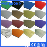 La decoración de aluminio Panel Compuesto de material plástico con Volor Vsrious