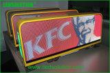Toit de taxi de 5 mm Affichage pour publicité de plein air