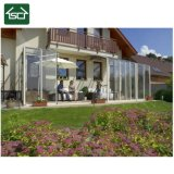不動産Constructureのための4つの季節のSunroomsが付いている新しいデザインガラス小屋の庭の屋外部屋