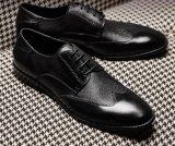 Calidad Premium cuero genuino Diseño Italiano Mens zapatos formales