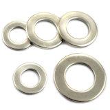 Le grand diamètre d'épaisseur des rondelles plates en acier