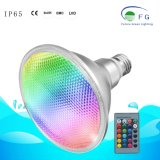 20W RGB LED PAR38 E27 освещения в саду