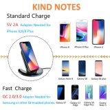 U8 Venta caliente cargador portátil inalámbrico Wireless para el iPhone 8 iPhone 8 iPhone Plus X, de carga inalámbrica