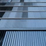 Régua de alumínio de abertura eléctrica Louvre teto exterior fresta da Sun