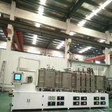 Magnetrón Sputtering PVD máquina de recubrimiento vacío
