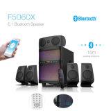 Cine en casa de 5.1 canales Altavoz profesional de altavoces de sonido Surround con mando a distancia Bluetooth