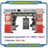 350 м/мин, высокая скорость компьютеризированная автоматическая машина для ламинирования Solventless пленки, Vm-Film, целлофановую, нейлон (DLSL-1300C)