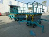 levage hydraulique électrique mobile de plate-forme de 6m