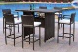 Outoor Muebles / Garde PE Rattan Mobiliario Bar Set para Mobiliario de Ocio