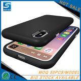Caso antirresbaladizo/del rasguño del apretón del teléfono para la nota 8 de la galaxia de Samsung