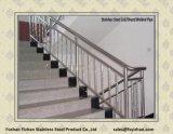 Tubulação de aço inoxidável do ornamento para trilhos da escada