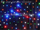 RGB 3 in 1 LED Star Curtain Star Cloth Backdrop mit CER
