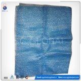 60*100cm Blau PET Ineinander greifen-Beutel für Verpackungs-Miesmuschel