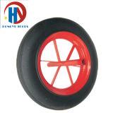 Rubber/PUの泡の一輪車か手のトロリータイヤ