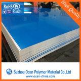 Impresión offset de hojas de PVC blanco rígido