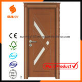 Certificate (SW-A001)の品質のトルコ人のGlass PVC Wooden Door