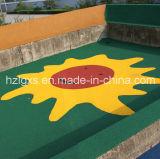 Migalhas de EPDM/Grânulo piso em borracha para atletismo, Parque infantil
