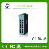 Laag 2 Schakelaar Ethernet van de Vezel van Unmanaged Poe de Optische