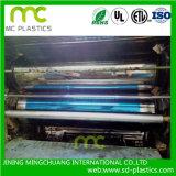 Double film de PVC de serre chaude de cloche de plastique