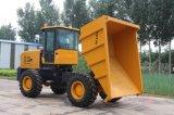 4WD 7,0 tonne Mini de basculement de benne hydraulique