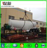백색 색깔 고품질 세 배 차축 40cbm 시멘트 Bulker