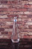 De Fles van het Glas van het Mineraalwater van de Stijl van het Water van Voss met Schroef Plastic GLB