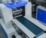 Cucharas/cuchillo/Servilleta/tejido húmedo almohada de flujo de la máquina de embalaje
