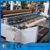 papel higiénico de la laminación del pegamento que graba Rewinging y perforación de la máquina de la fabricación de papel de la toalla de cocina