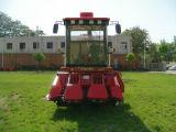Baixa perda da semente da grão para a maquinaria da colheita mecanizada do milho de três fileiras