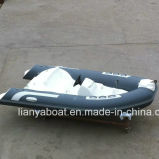 Liya 3.3m 11ft Fiberglass Speed Boat Bateau nautique gonflable